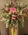 ボヌールのスタンド花
