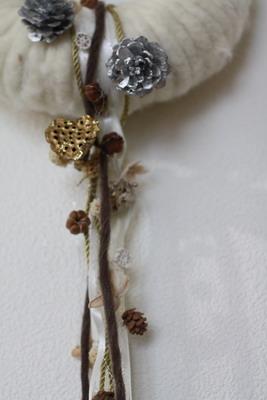 ドイツ製ウールのクリスマスリース