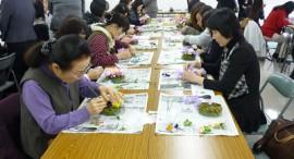 フラワーアレンジ教室/生花