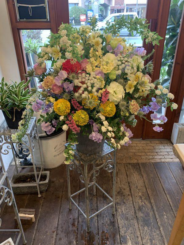 開店祝い 周年記念 誕生日 フラワーアレンジ 福岡市 花屋