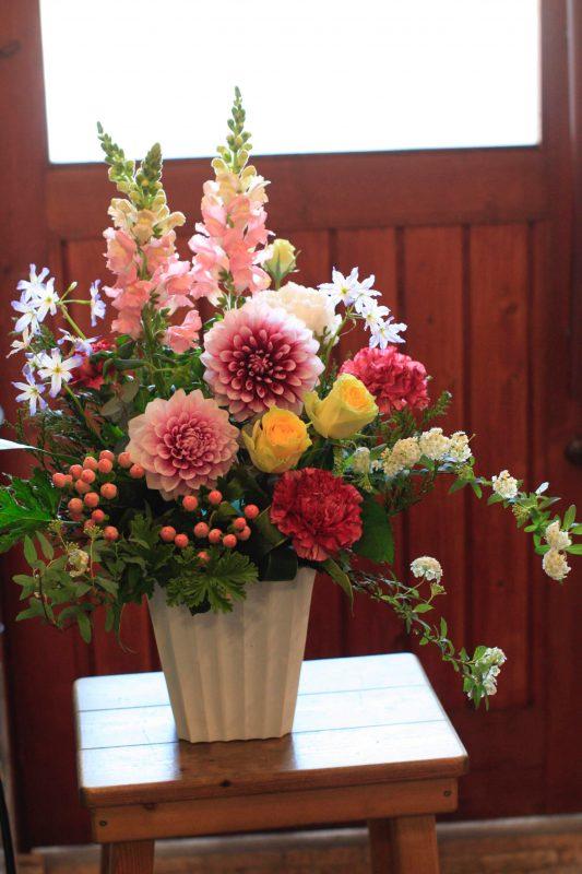 イタリアンオープンにお届け致しました 福岡市 花屋 ボヌール;