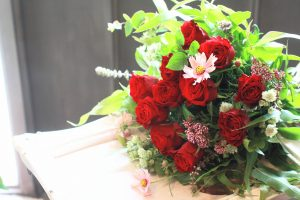 海外からの御依頼ありがとうございます 福岡市 花屋 フラワーアレンジレッスン;